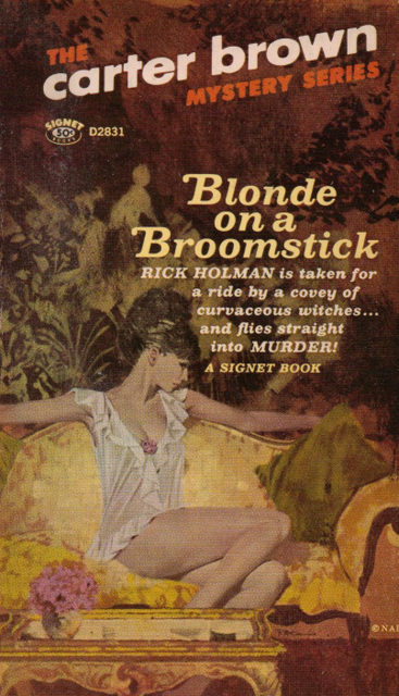 Carter Brown - Blonde on a Broomstick