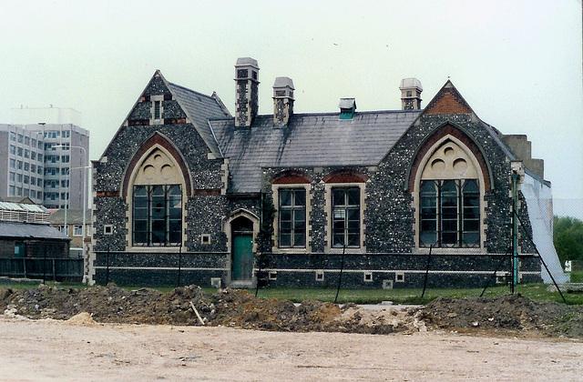Last of Church Street school Portsmouth 1986