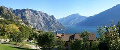 Panorama des nördlichen Lago die Garda von Tremosine aus. ©UdoSm