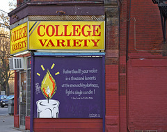 College Variety – College and Huron Streets, Toronto, Ontario