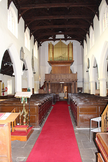 Box Pews, All Saints' Church, Nafferton, East Riding of Yorkshire