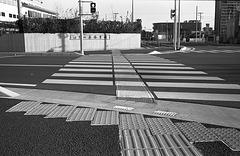Tactile guiding strips