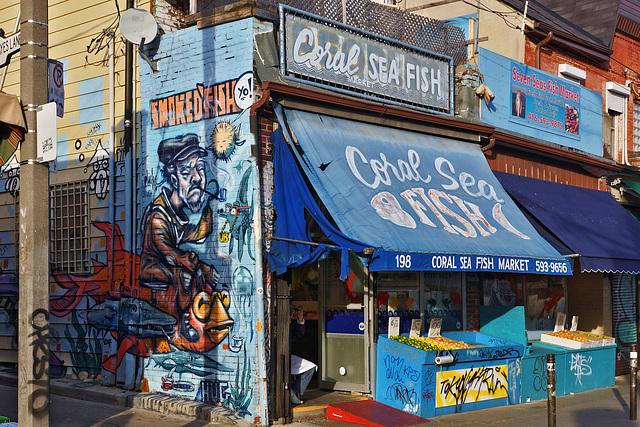 Smoked Fish – Baldwin Street, Toronto, Ontario