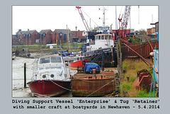 DSV Enterprise & Tug Retainer  - Newhaven - 5.4.2014