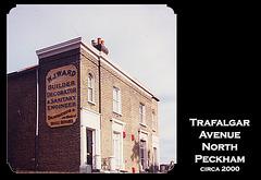 W J Ward - Builder's sign - Peckham - circa 2000