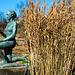 20140310 0765VRAw [D-E] Gras, Skulptur, Gruga-Park, Essen