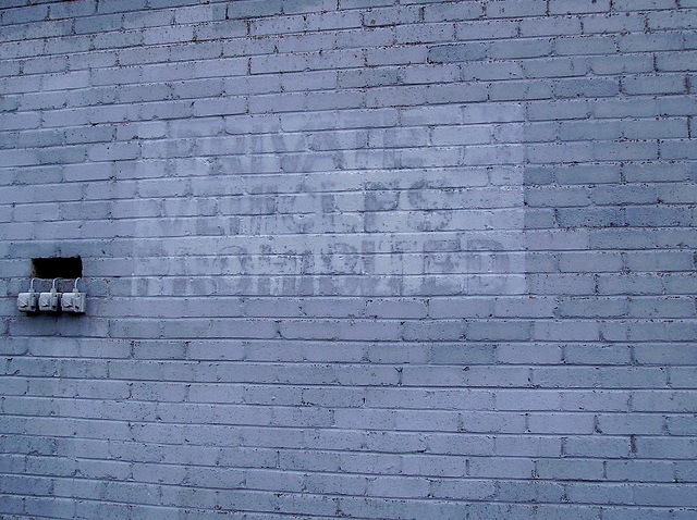 O&S - old ghost sign