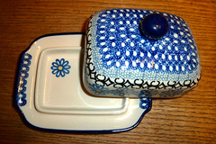 New butter dish