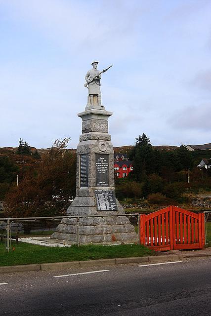 War Memorial Lochinver