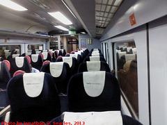FGW Intercity 125 New Interior, London Paddington, London, England (UK), 2013