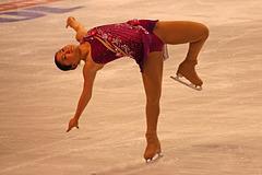 Bent leg layover spin