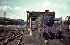 Stockport Edgeley Engine shed 28th April 1968