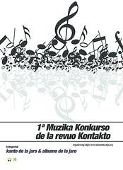 1ª Muzika Konkurso de la revuo Kontatko