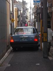 Taksio, en la urbo KIOTO