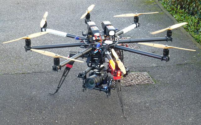UAV in Lee on Solent (2) - 10 February 2014