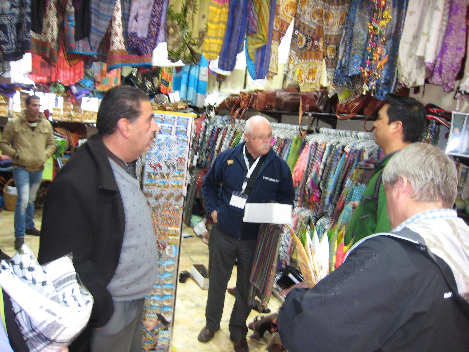 Muslim shop owner who helped us out.