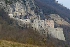 P1090083- Fort l'Ecluse, Le fort du bas - Rando Fort l'Ecluse:Léaz  11 mars 2014