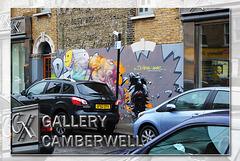 GX gallery Camberwell mural - 14.2.2014