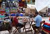 Artistes au marché de Pisac
