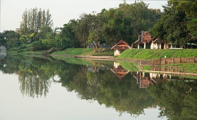 View along River Ping