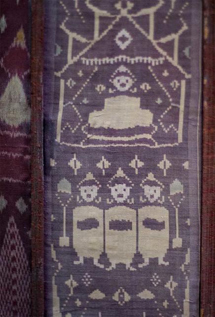 Fabric design in museum in Chiang Mai