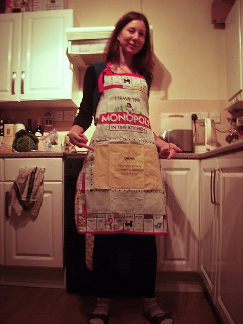 Monopolise the kitchen!