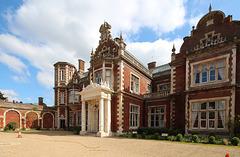Entrance Courtyard, Lynford Hall, Norfolk