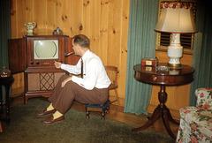 Pipe-Smoking Television Man