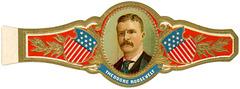 Theodore Roosevelt Cigar Band