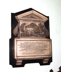 Memorial to the Rev'd James Haldane Stewart MA, Saint Bride's Church, Percy Street, Liverpool