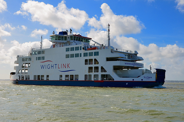 St Clare, Isle of Wight ferry