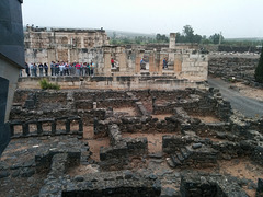 Capernaum, where Jesus stayed and Peter lived.