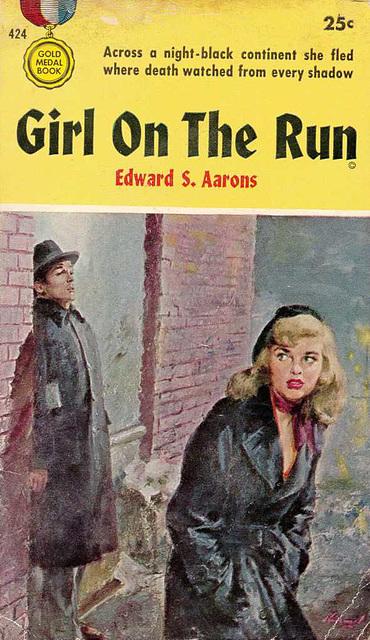 Edward S. Aarons - Girl on the Run