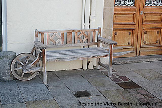 More seat than barrow - Honfleur - 24.9.2010