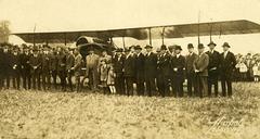 Early Biplane Photo by Harpel, Lebanon, Pa.