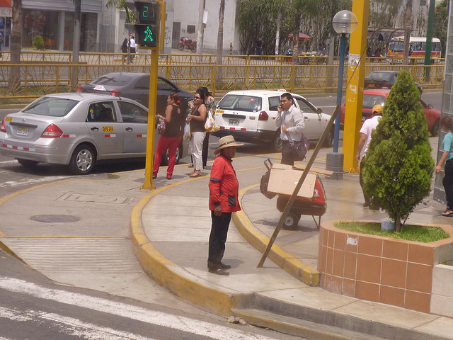Scène de rue