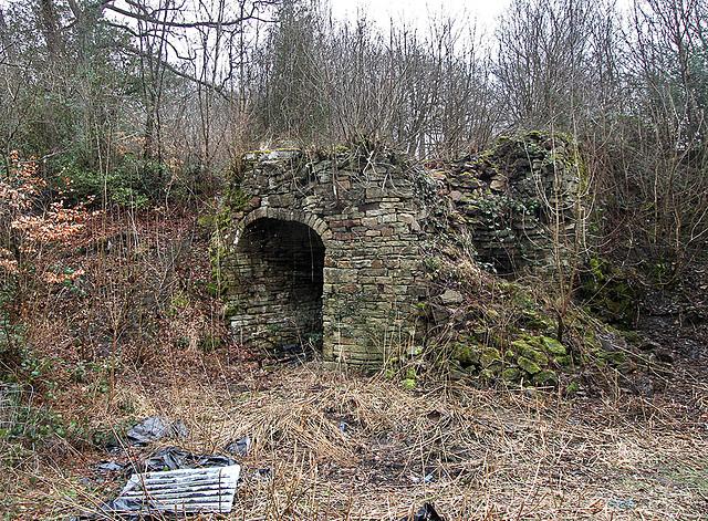 West Crag kiln