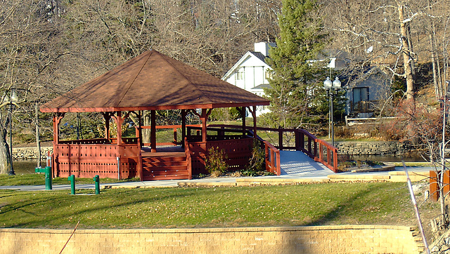 Band Pavilion, Island Park, Grand Ledge
