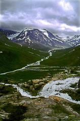 Hiking up to Spiterstulen  - 24.6.70 (180°)