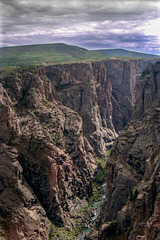 The Black Canyon of the Gunnison, Sept 22nd, 1990