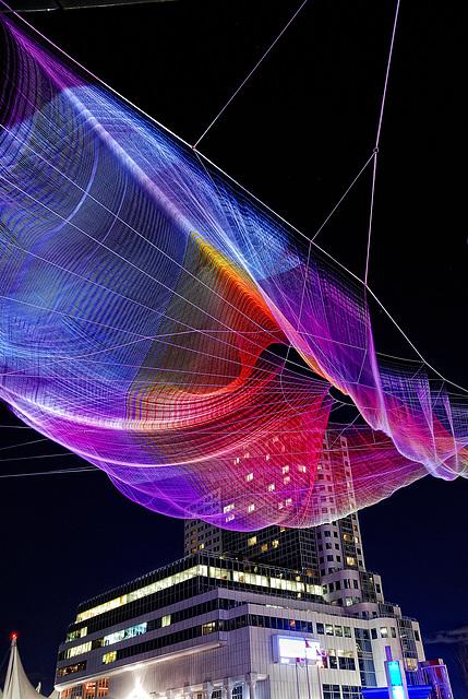 TED Talks - Interactive Art Sculpture