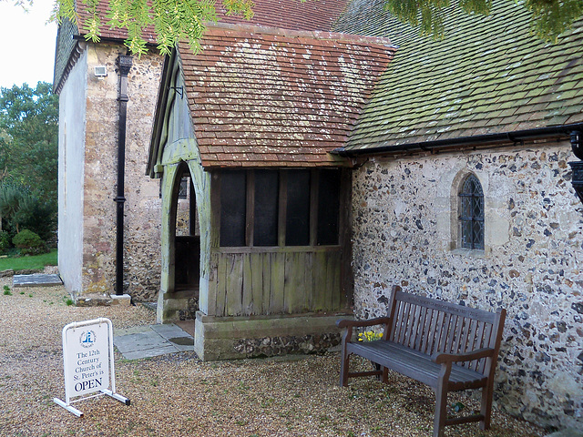 The 12th Century Church of St Peter's is Open