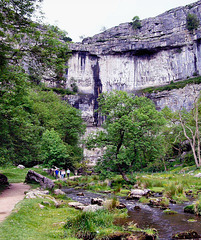 Malham Cove, North Yorkshire.