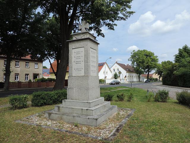 Denkmal 1.Weltkrieg - Glasow