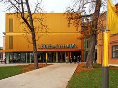 """Der neue Erweiterungsbau Museum """"Lenbachhaus"""", München"""