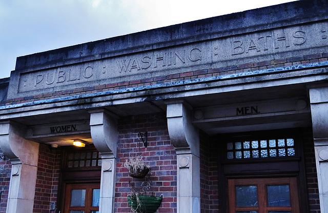 stoke newington bath house, london