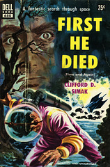 Dell Books 680 - Clifford D. Simak - First He Died