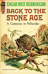Ace Books F-245 - Edgar Rice Burroughs - Back to the Stone Age