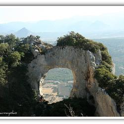 (Window on Sardinia) ...the perforated stone