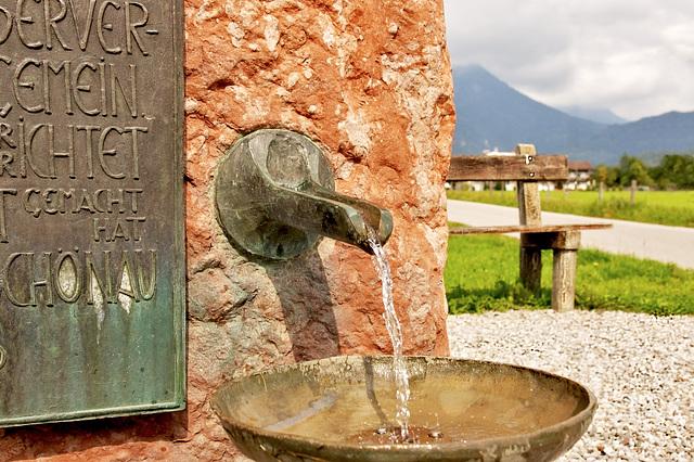Brunnen in Schönau am Königssee (2)